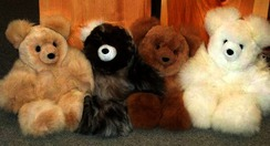 Photo of Alpaca Teddy Bear 10""