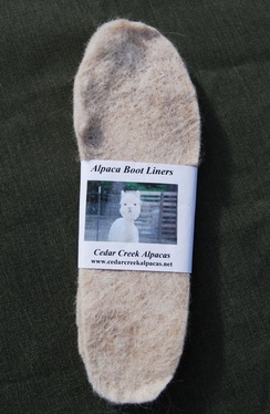 Photo of 100% Alpaca Boot Liners