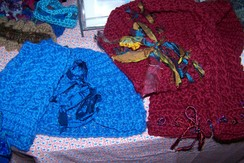 Photo of Hand-created Hats and Scarves