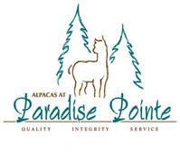 Alpacas at Paradise Pointe - Logo