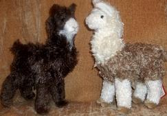 "Photo of Soft Snuggly 11"" Alpaca / Llama"