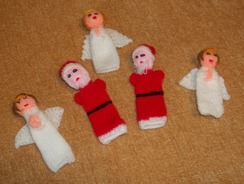 Photo of Finger Puppets - Christmas Angel & Santa