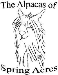 The Alpacas of Spring Acres - Logo