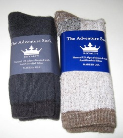 Alpaca Socks - Adventure