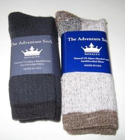 Alpaca Socks - Adventure