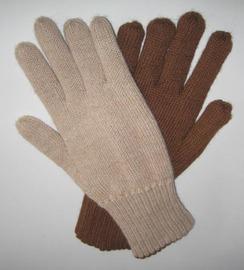 Gloves - Reversible, 100% Alpaca