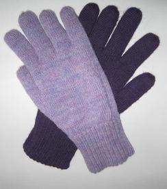 Gloves - Reversible -100% Alpaca
