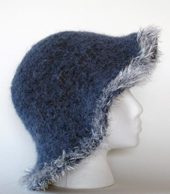 Felted Alpaca Hat #3