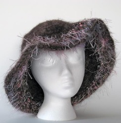 Felted Alpaca Hat #11