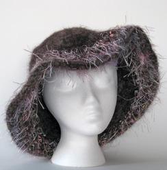 Felted Alpaca Hat #11
