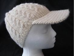 Multi Cable Alpaca Brimmed Hat #1