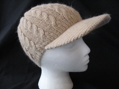 Multi Cable Alpaca Brimmed Hat #2