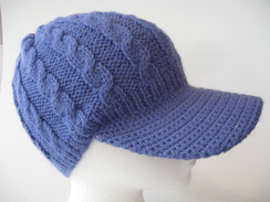 Multi Cable Alpaca Brimmed Hat #3