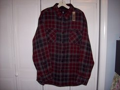 Men's Plaid Shirt Jacket