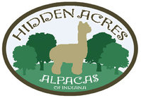 Hidden Acres Alpacas of Indiana - Logo