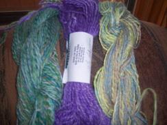 100% Suri Alpaca Hand Spun Yarn