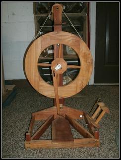 Virgil's Folding Spinning Wheel