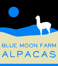 Blue Moon Farm Alpacas - Logo