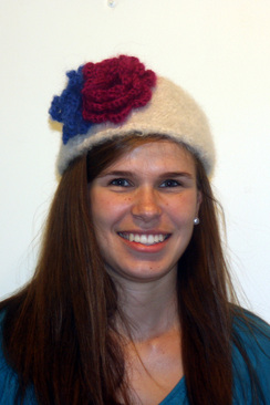 Photo of Handknit & Felted Hat