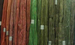 Hand Dyed Yarn in Our Farm Store