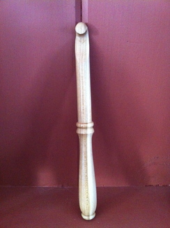 WOODEN CROCHET HOOK
