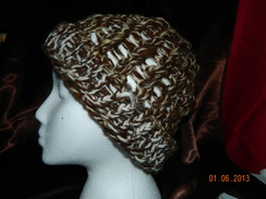 Photo of SORRY SOLD Loose knit slouchy hat