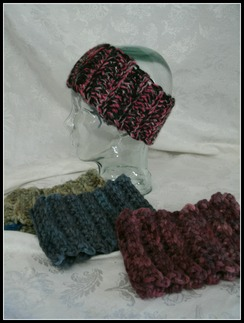 "SOLD OUT-COZY ""Ribbed"" Headbands"