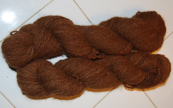 Photo of Ruby Hand Spun Yarn
