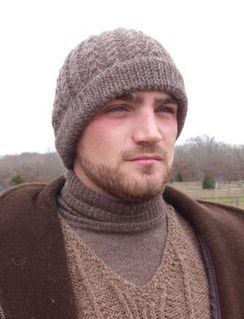 Hand-Knit Cable Hat