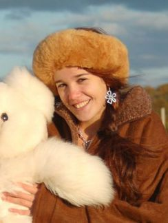 Baby Alpaca Fur Headband/Collar