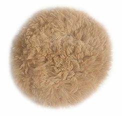 100% Baby Alpaca Fur Pillow