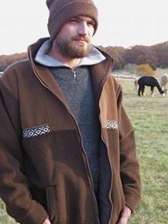 Zip-Sport Alpaca Jacket