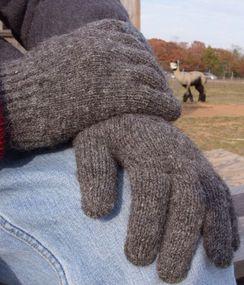 100% Alpaca Glove