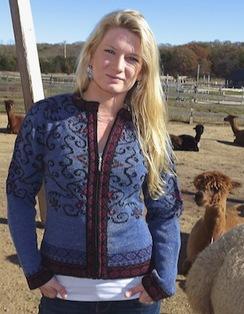 Alpaca Zipper Sweater,