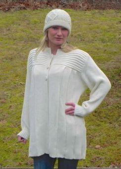 Plisse Sweater