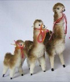 Standing Toy Alpaca