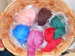 Dyed Merino Roving