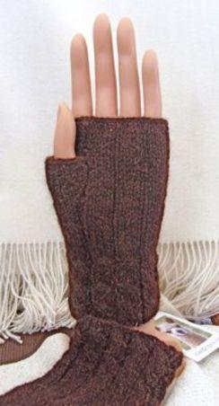 """""""Wristlet"""" Knitting Pattern or Kit"""