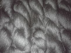 Photo of Black Suri Yarn
