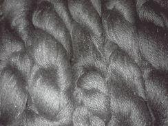Black Suri Yarn