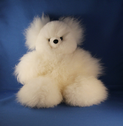 Baby Teddy Bear – White