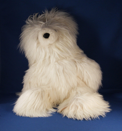 Photo of Alpaca Teddy Bear – White Suri