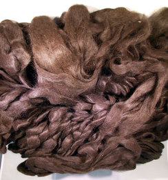 Photo of Black Suri Roving