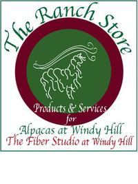 Alpacas at Windy Hill - Logo
