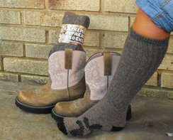 Photo of Extreme Alpaca Boot Socks-Orig. Blend