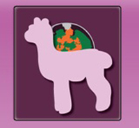 Secret World Alpacas - Logo