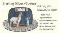 Sterling Silver Alpacas - Logo