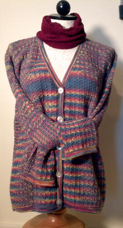 Photo of  Hand Dyed Cardigan