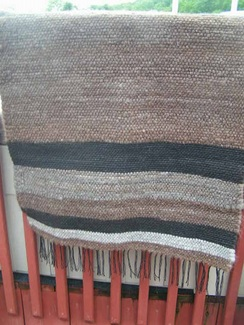 Photo of Handwoven Alpaca Rugs