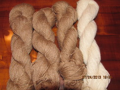 Photo of Suri / Silk mix yarn